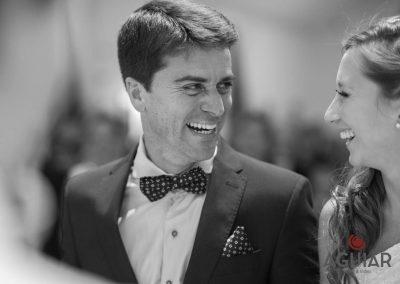 Sonrisa del novio, expresiones unicas para tu boda